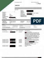 Department of Finance documentation of Pauline Hanson's trip to Norfolk Island