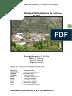 7. Plan de Desarrollo Concertado de La c.c Pichirhua