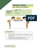 Lembar Kerja Gerak Parabola