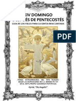 GUÍA DE LOS FIELES PARA LA SANTA MISA CANTADA  Domingo XIV después de Pentecostés. Kyrial Angelis 2017
