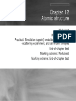 Physics - Chapter 12 - Atomic Structure