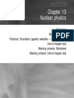 Physics - Chapter 13 - Nuclear Physics