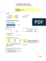 Cálculo Rede - Loteamento Ficticio