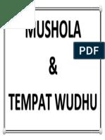 Tempt Wudhu