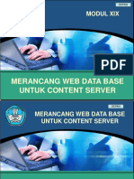 Kk19 Merancang Web Data Base Untuk Content Server