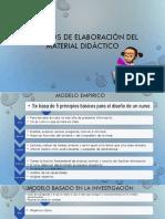 Modelos de Elaboración Del Material Didáctico 7