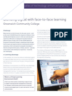 Case Study 1 - Virtual Learning Environments