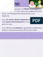 Argumentative Paper How To