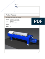 JSPL 30 April 2011 Decanter Test Proposal and Results