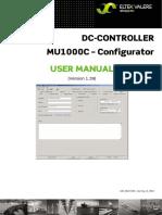 UM MU1000 Config E R03 PDF