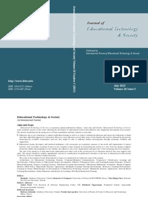 ets_18_3 pdf   Factor Analysis   Educational Technology