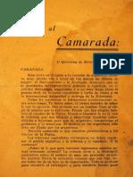 1944. Cartas Al Camarada