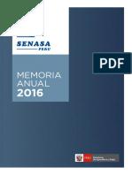 Memoria 2016 Senasa