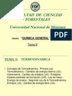 Tema 9 - Termodinámica