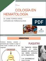 Farmacología en Hematología