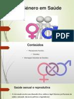 Saúde Sexual e Reprodutiva;