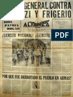 Alianza 1961 Noviembre