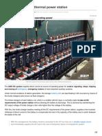 -220V DC System at Thermal Power Station