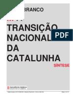 A Transição Nacional Da Catalunha - Traduzido