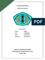 Laporan Bengkel Sodomo,Industri,r.tingkat