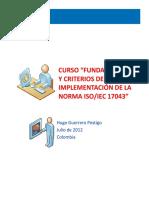 Fundamentos y Criterios de Implementación de La Norma ISO-IEC 17043