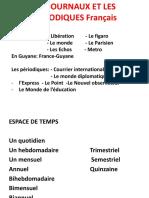 Les Journaux et Les Périodiques Français