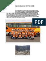 Informe de La Mina Shougan Hierro Perú