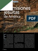 Las Misiones Jesuitas de América