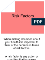 risk factors and yrbs