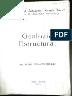 Geologia General Chumacero 1