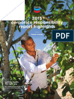 2015 Chevron Corporate Responsibility Report