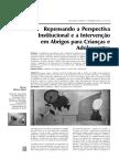 Repensando a Perspectiva Institucional e a Intervenção em Abrigos para Crianças e Adolescentes