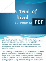 Trial of Rizal
