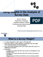 Introduction to Survey Weights Pri Version
