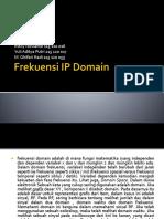 Frekuensi IP Domain