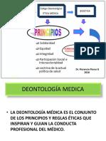 SEGUNDA CLASE 2016 DE ETICA DEONTOLOGÍA MEDICA (1).pptx