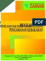 Cover Program Pengamanan Kebakaran