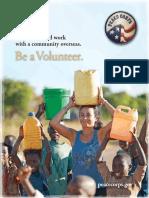 Peace Corps  Catalog 2014 Brochure