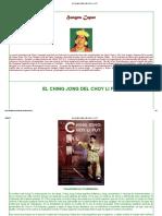 El Ching Jong Del Choy Li Fut