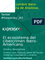 Dmitry Bestuzhev-ecosistema de Crimen Cibernetico