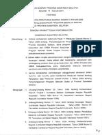 Perda No. 16 Tahun 2011 Tentang PSG Sumsel