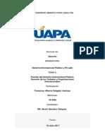 Tarea II Derecho Internacional Publico y Privado