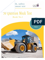 CSCS Test Questions Operatives Test