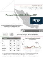 Panorama Epidemiológico de Dengue 2017