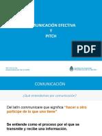 Comunicacion Efectiva y Pitch