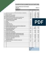 Presupuesto Adecuacion de Ambientes - Av. Primavera