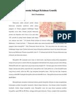 Thalassemia Sebagai Kelainan Genetik