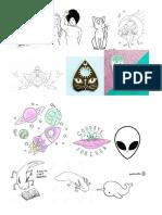 plantilla variada para diseño e impresión