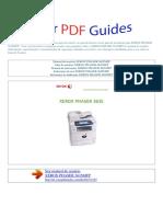 Manual Do Usuário Xerox Phaser 3635mfp p