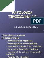 Patologia Tiroidiană AnatHT